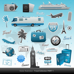 Travel Theme Vector