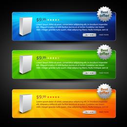 Webdesign-dekorativer Element-Vektor 5