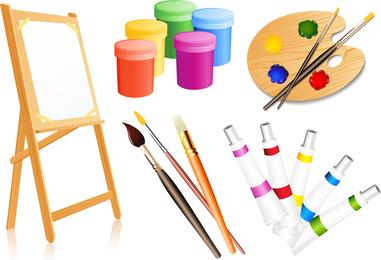 Suprimentos de ferramentas de desenho de vetor