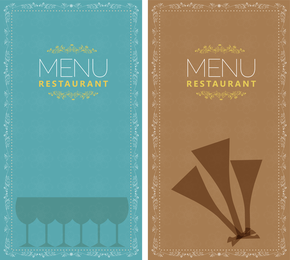 Restaurant Menu 02 Vector
