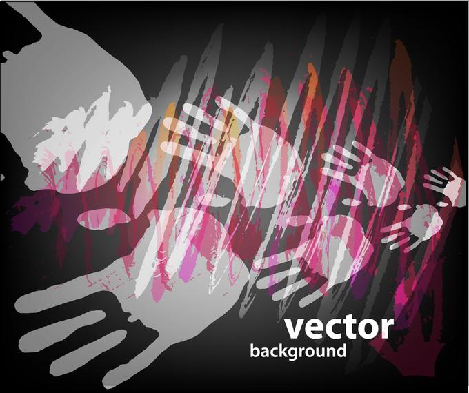 Gorgeous Fingerprint Vector