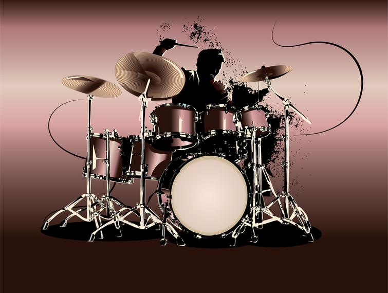 Открытка музыканту барабанщику, про людей