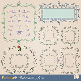 Europeanstyle Lace Tag 02 Vector