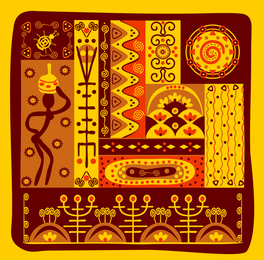 Classical Tribal Totem Vector 5