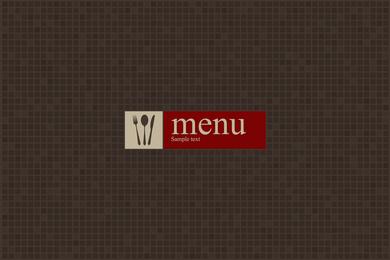 Vetor de menu ocidental 2
