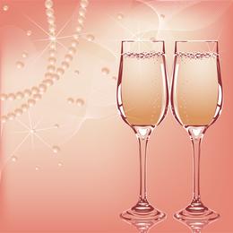 El encanto de la novia Wedding Elements 04 Vector