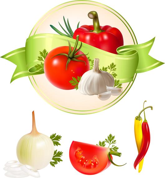 Vector De Verduras Varias