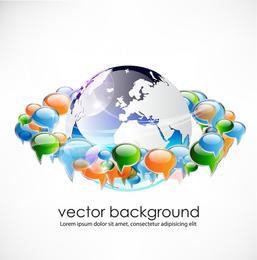 Business Concept Dialog Trend Vector 2