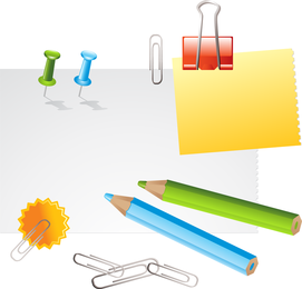 Stationery supplies set