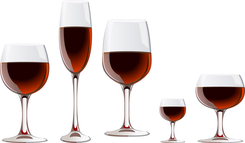Vector Red Wine
