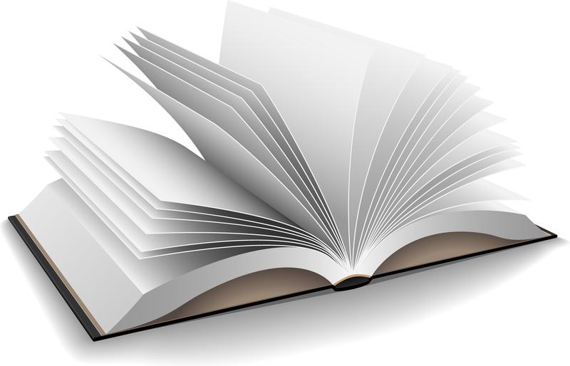 3d open book illustration vector download