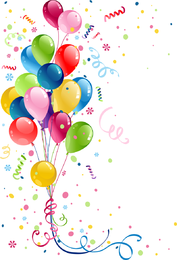Beautifully Colored Balloons 03 Vector