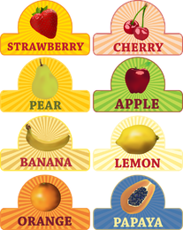 Fruit Theme Vector