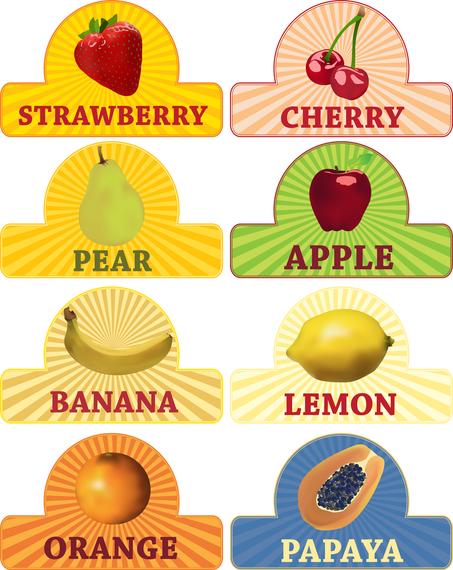 Fruit Theme Vector