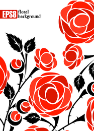 Roses Vector 2