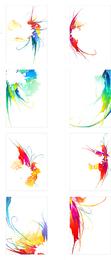 Sinfonia da tendência de tinta Vector 2