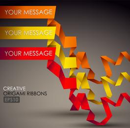 Hermoso color de tipografía 02 Vector