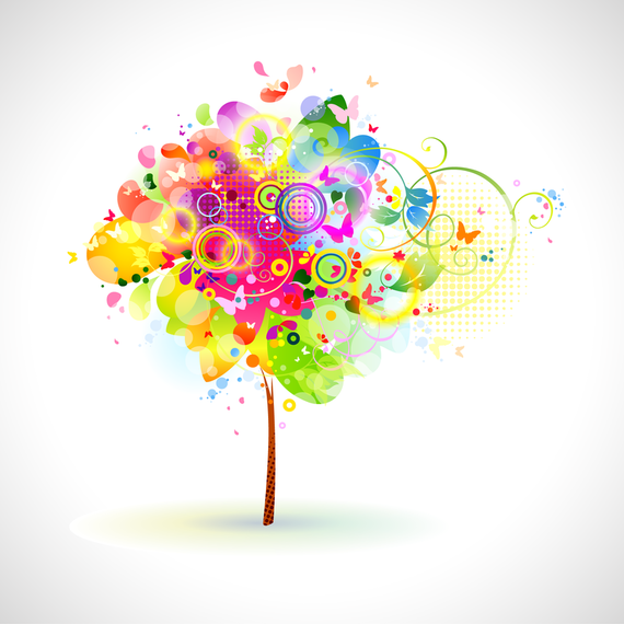 Brilliant Dynamic Elements Of The Trend 04 Vector
