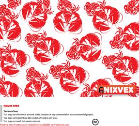 Nixvex Lobster Free Vector