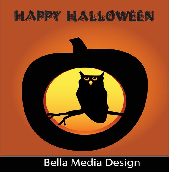 Happy Halloween Owl Pumpkin