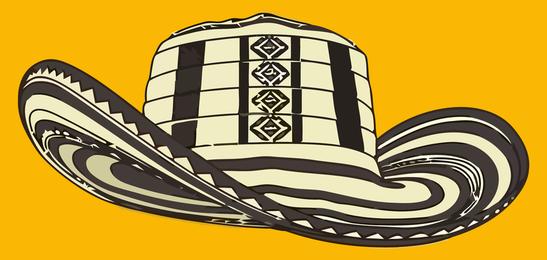 Vueltiao Sombrero-Vektor