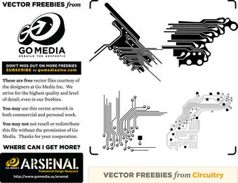 Vector Freebie Circuitry