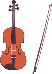 violín del vector