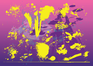 Grunge yellow stains background