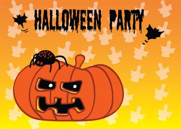 La fiesta de Halloween invita