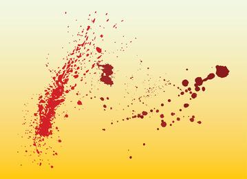 Salpicaduras de sangre