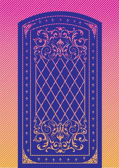 Decoración de la puerta