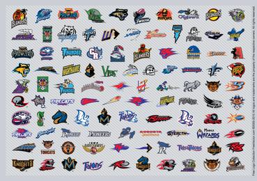 Afl Fußball-Logos