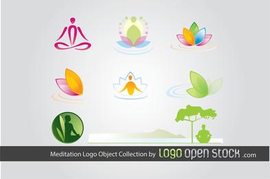 Mediación Logo Colección de objetos