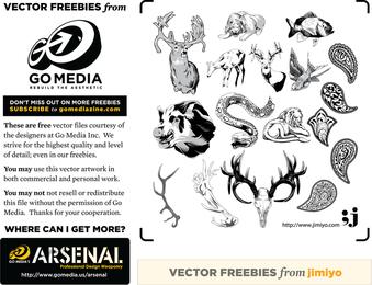 Animal Vectors From Jimiyo 2