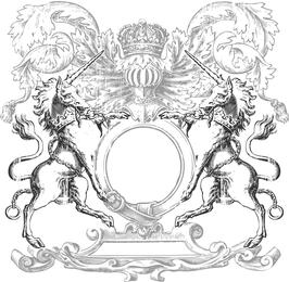 Heraldry Vector Art