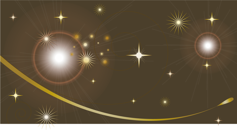 Fundo cintilante Cosmos