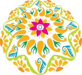 Mandala de Rangoli