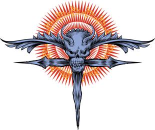 Religius Skull Design