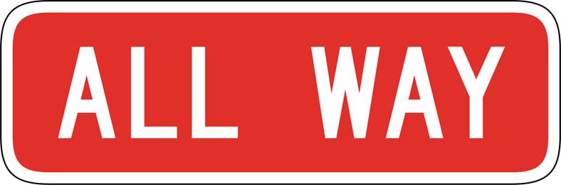 Placa de sinal Vector 1217