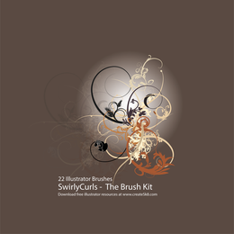 Swirly Curls Sick Brush Kit
