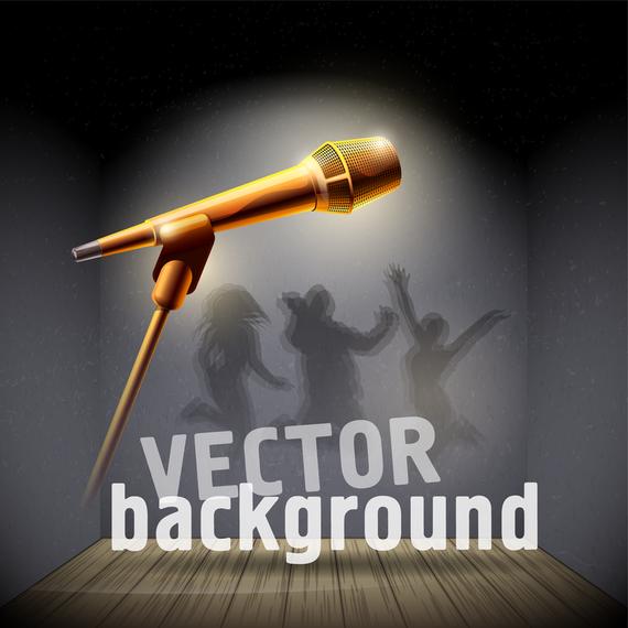 Microphone 06 Vector