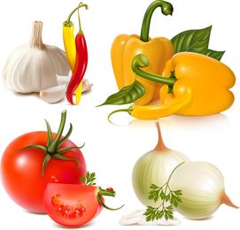 Gemüse Bild 01 Vektor