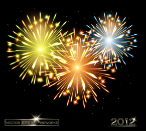 Fireworks Effect 04 Vector