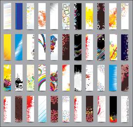 Vetor de Design de cartão de tendência 02