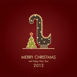 2012 ilustração de imagem de dragão 04 vector