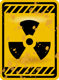 Nuclear Warning Signs 03 Vector