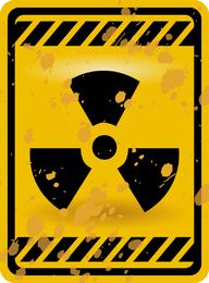 Vetor de sinais de aviso nuclear 03