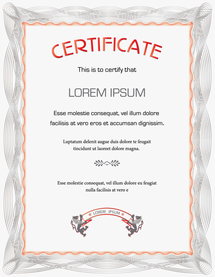 Beautiful certificate template vector vector download beautiful certificate template vector yadclub Image collections