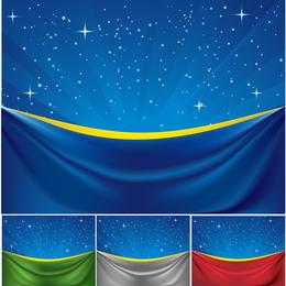 Vector Cloth Under The Stars