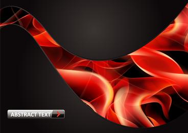 Vektor 8 Flammenroter Rauch